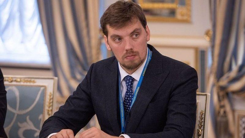 Nowy premier Ukrainy Ołeksij Honczaruk, źródło president.gov.ua