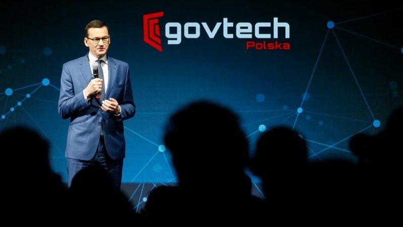 Premier Mateusz Morawiecki na spotkaniu GovTech ws. wody, źródło Krystian Maj KPRM