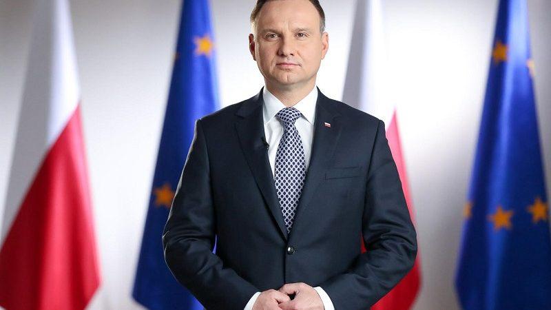 Prezydent Andrzej Duda, źródło Grzegorz Jakubowski KPRP