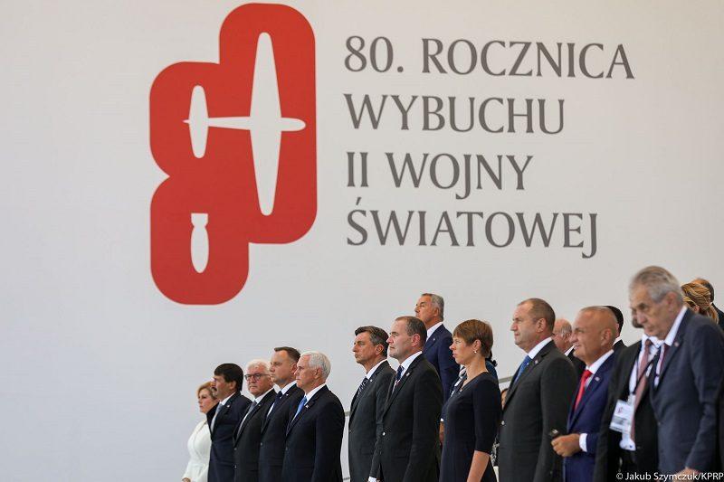 80. rocznica wybuchu II wojny światowej w Warszawie, źródło Jakub Szymczuk KPRP