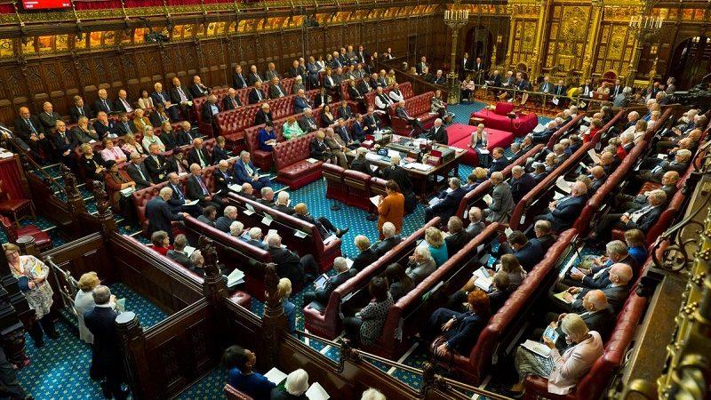 Obrady Izby Lordów ws. brexitu, źródło twitter UKHouseofLords