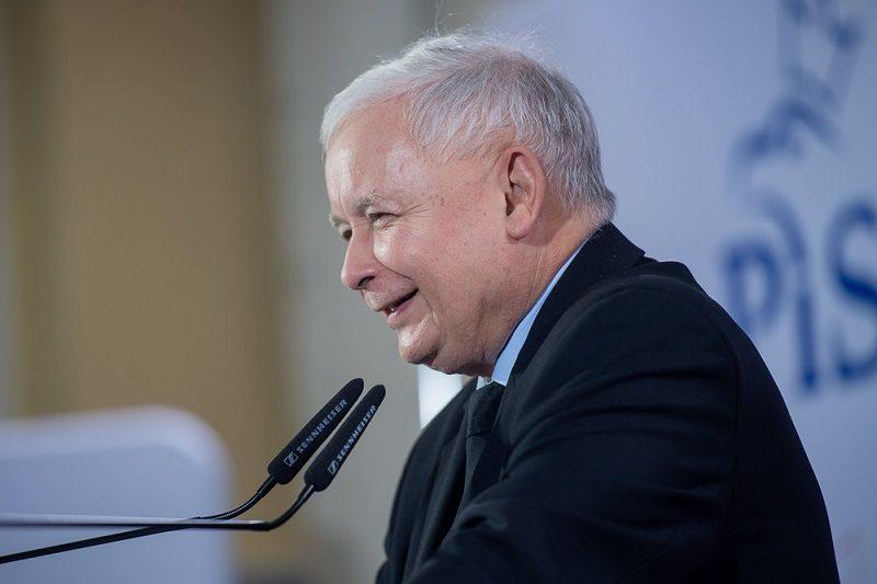 Prezes PiS Jarosław Kaczyński, źródło pis.org