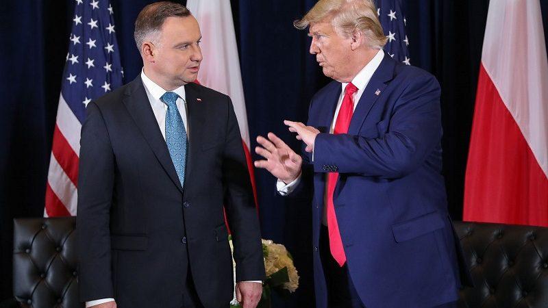 Prezydenci Andrzej Duda i Donald Trump w Nowym Jorku, źródło Jakub Szymczuk KPRP
