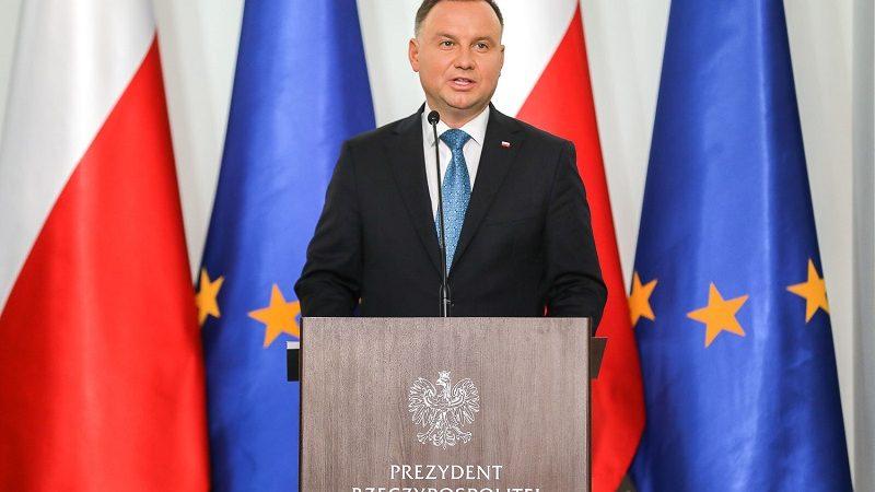 Prezydent Andrzej Duda na doroczneh naradzie ambasadorów, źródło Jakub Szymczuk KPRP
