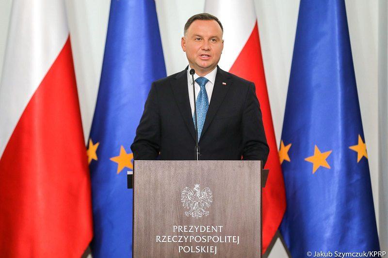 Prezydent Andrzej Duda na dorocznej naradzie ambasadorów, źródło Jakub Szymczuk KPRP