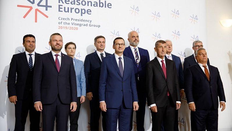 Spotkanie premierów państw V4 i Bałkanów Zachodnich w Pradze, źródło Krystian Maj KPRM