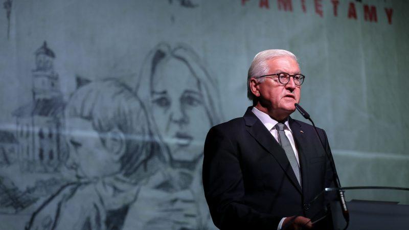 Frank-Walter Steinmeier, fot. Krzysztof Sitkowski /KPRP
