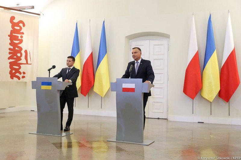 konferencja pras.prezydentów Dudy i Zełenskiego w Warszawie, źródło Krzysztof Sitkowski KPRP