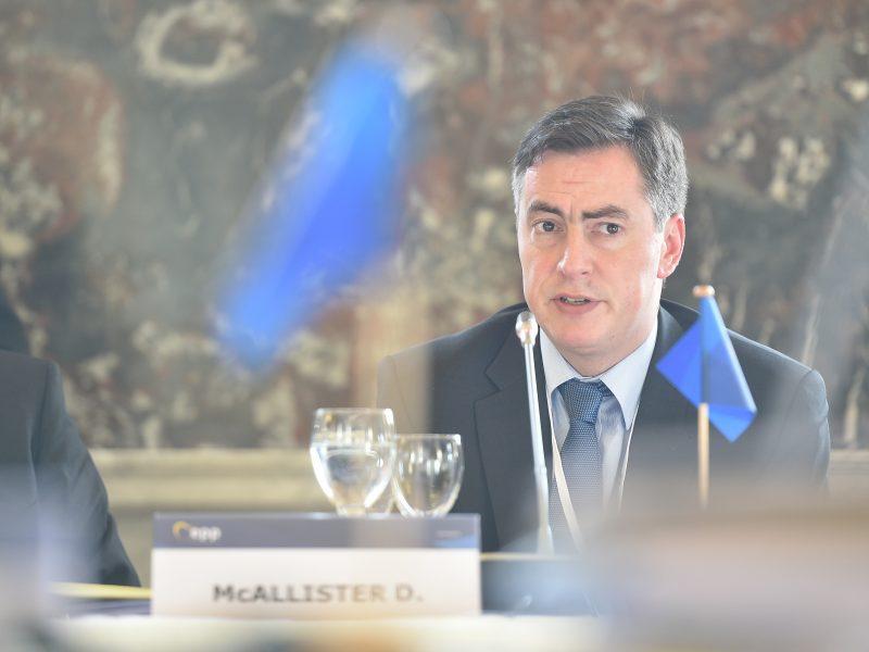 David McAllister, przewodniczący Komisji ds. Zagranicznych Parlamentu Europejskiego