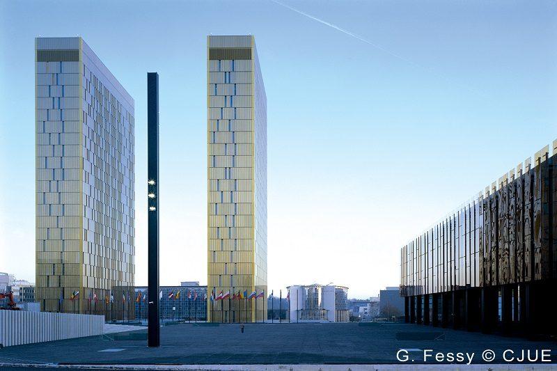 Budynki TSUE, źródło G.Fessy CJUE
