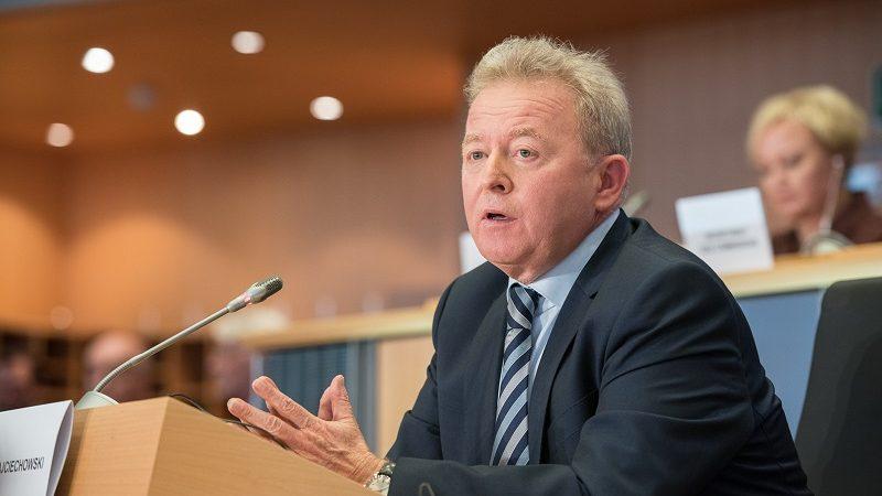 Kandydat na komisarza UE ds. rolnictwa Janusz Wojciechowski w czasie przesłuchania w PE, źródło PE