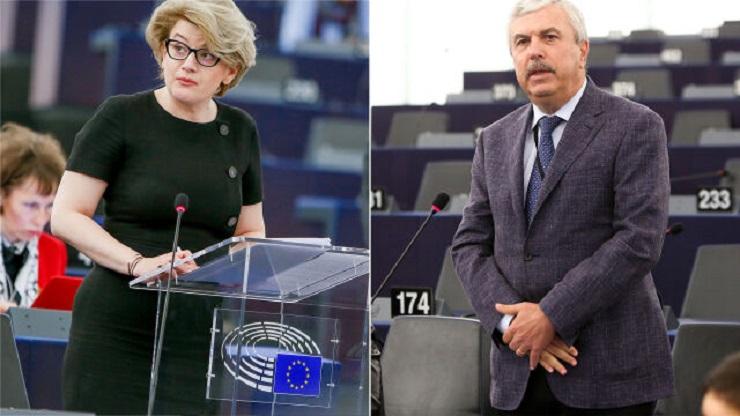 Nowi kandydaci Rumunii do KE Melania-Gabriela Ciot i Dan Nica, źródło PE