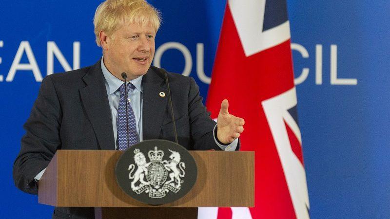 Premier Wielkiej Brytanii Boris Johnson, źródło KE