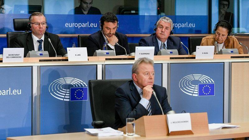 Przesłuchanie w PE polskiego kandydata do KE Janusza Wojciechowskiego, żródło BIPE