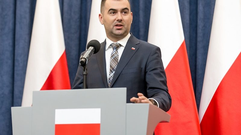Rzecznik prezydenta Andrzeja Dudy Błażej Spychalski, źródło Igor Smirnow KPRP