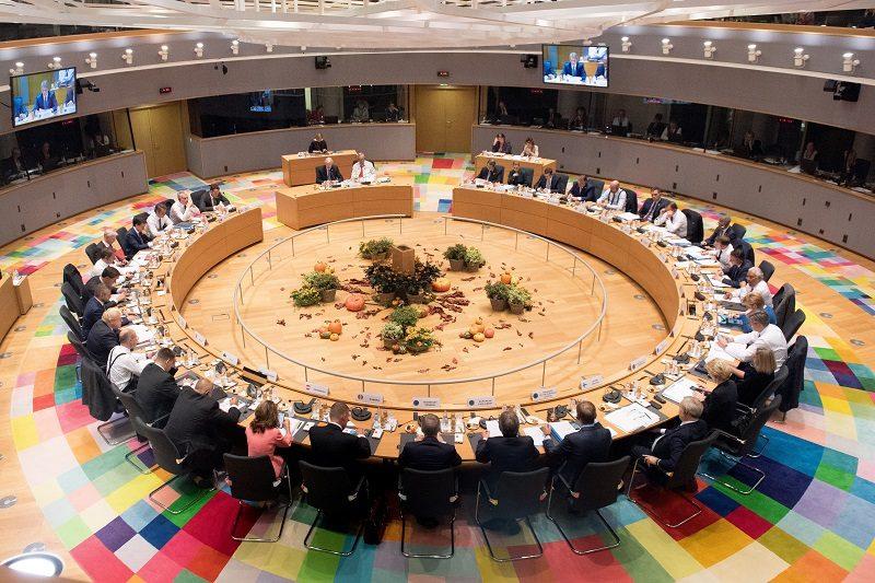 Szczyt UE, sala obrad, źródło Etienne Ansotte KE