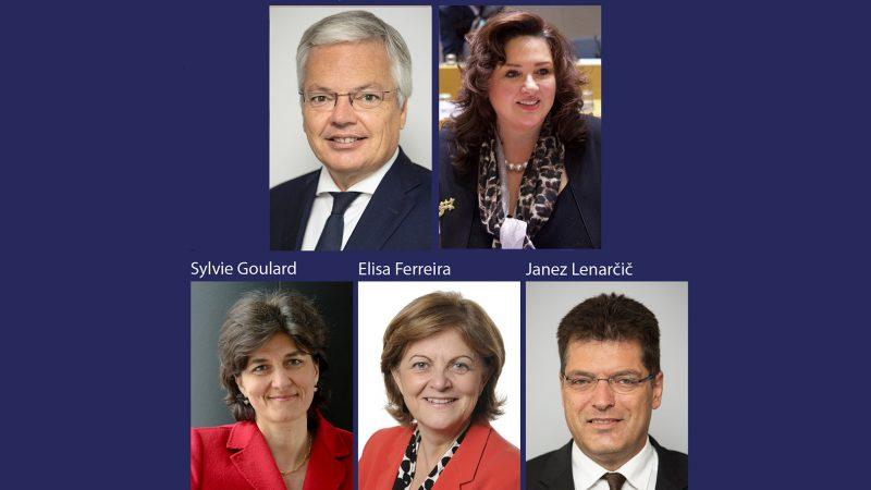 Trzeci dzień przesłuchań kandydatów na komisarzy Helena Dalli, Janez Lenarčič, Sylvie Goulard, Elisa Ferreira, Didier Reyners, źródło PE