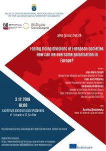 Polaryzacja polityczna i społeczna w Europie @ Audytorium Maximum UJ, Sala Wystawowa
