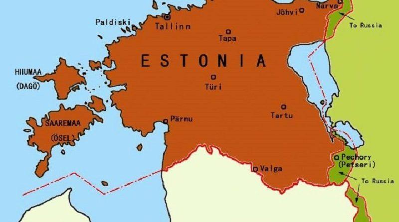 Granice między Estonią i Rosją, źródło wikimedia. org.commons CC BY-SA 3.0