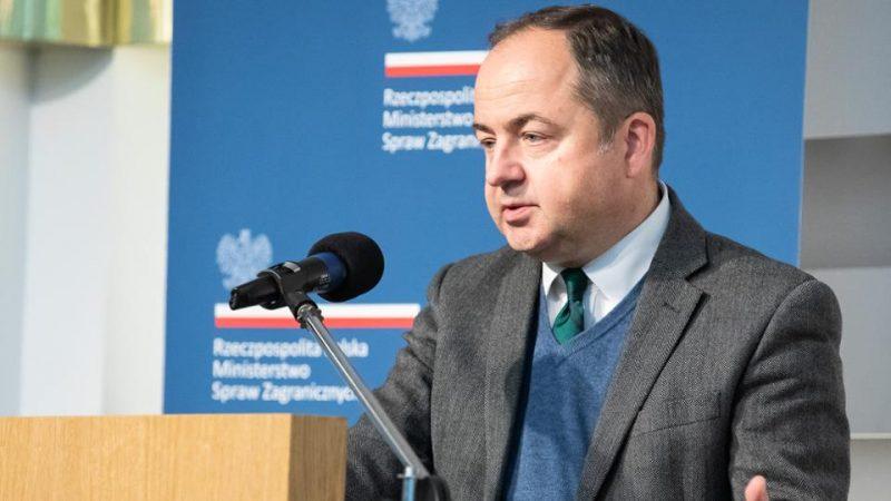 Konrad Szymański, minister ds. europejskich