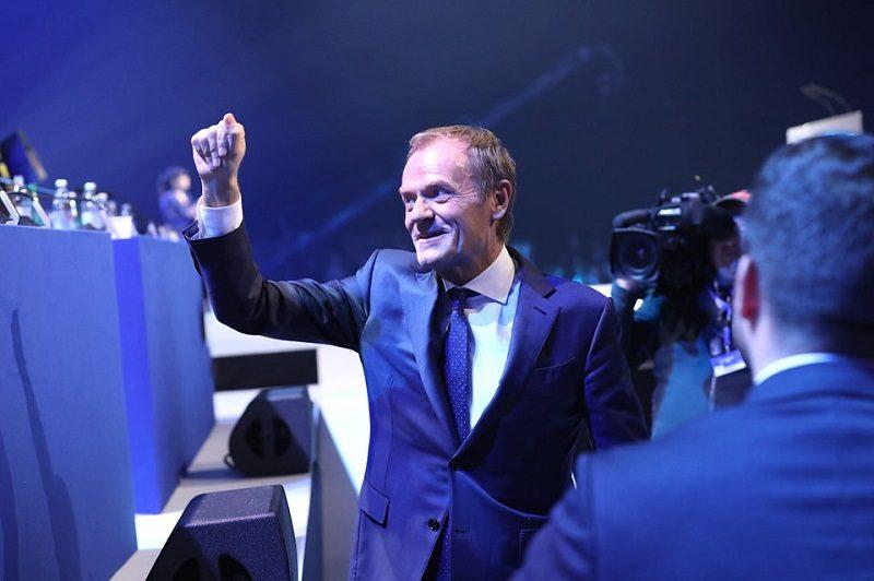 Nowy szef EPL Donald Tusk na kongresie w Zagrzebiu, źródło facebook PlatformaObywatelska