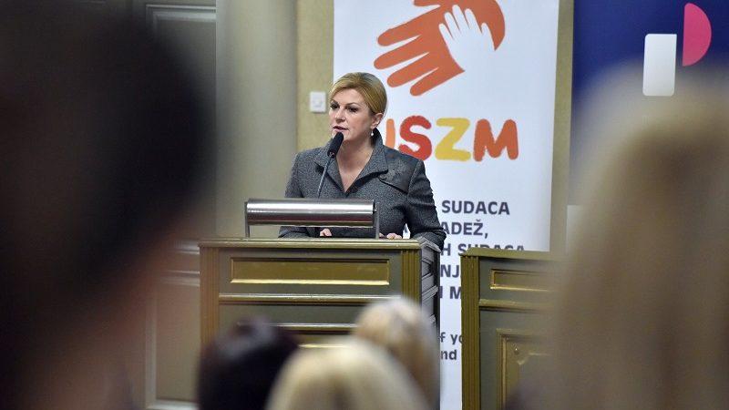 Prezydent Chorwacji Kolinda Grabar-Kitarović, źródło twitter.com kolindagk