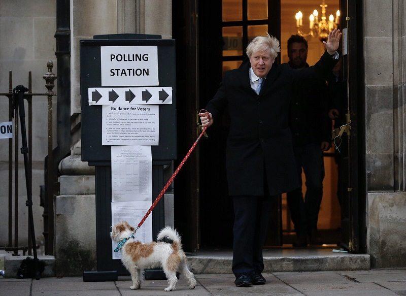 Lider Partii Konserwatywnej, premier Boris Johnson, wybory 2019, źródło twitter BorisJohnson