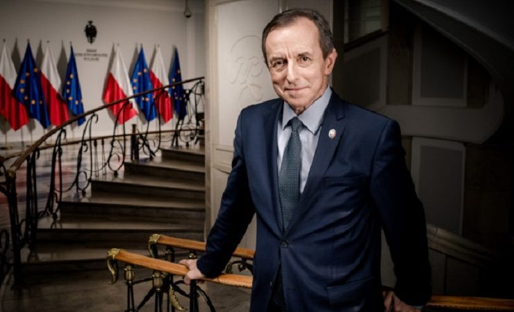 Marszałek Senatu Tomasz Grodzki, źródło senat.gov.pl, w.grzędziński