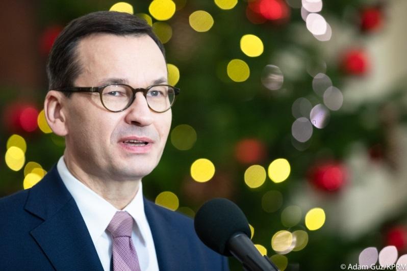 Premier Mateusz Morawiecki grudzień 2019, źródło Adam Guz KPRM