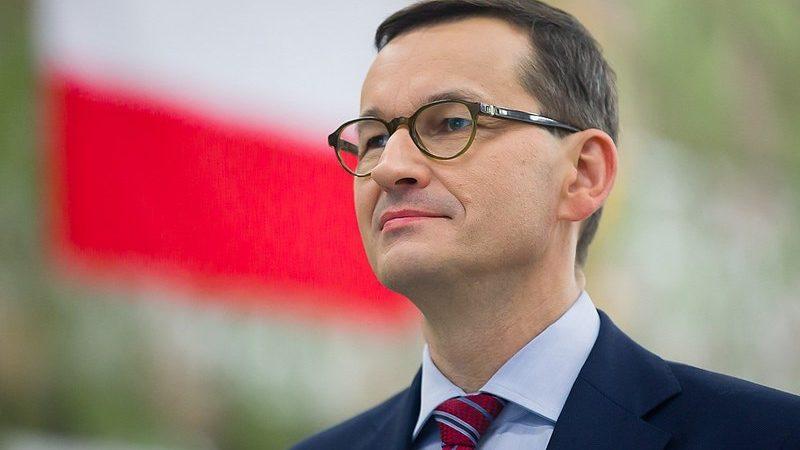 Premier Mateusz Morawiecki (portretowe), źródło Krystian Maj, KPRM