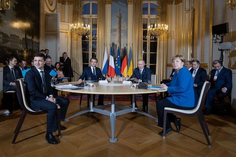 Szczyt normandzkiej czwórki w Paryżu, źródło president.gov.ua