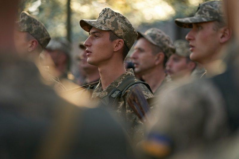 Ukraińscy żołnierze w Doniecku, źródło president.gov.ua