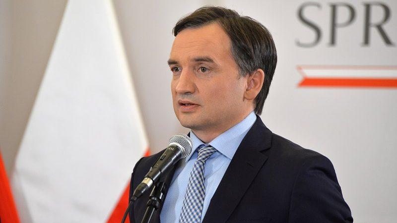 Minister sprawiedliwości, prokurator generalny Zbigniew Ziobro, źródło twitter MS_GOV_PL