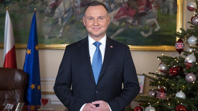 Prezydent Andrzej Duda, orędzie noworoczne 2020, źródło Krzysztof Sitkowski KPRP