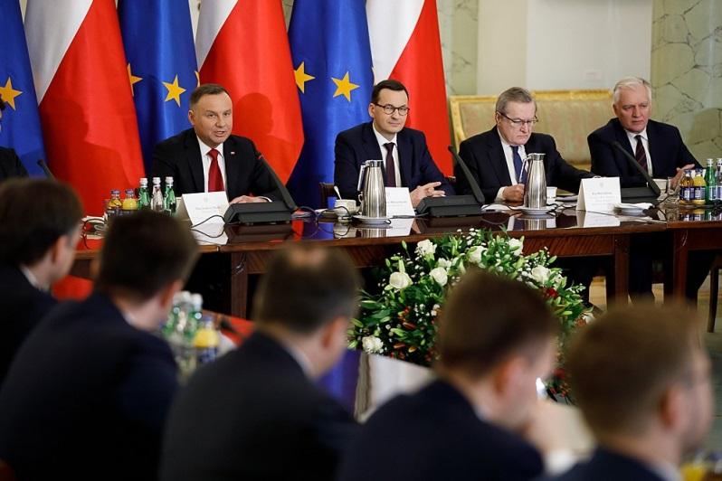 Rada Gabinetowa, styczeń 2020, źródło Krystian Maj KPRM