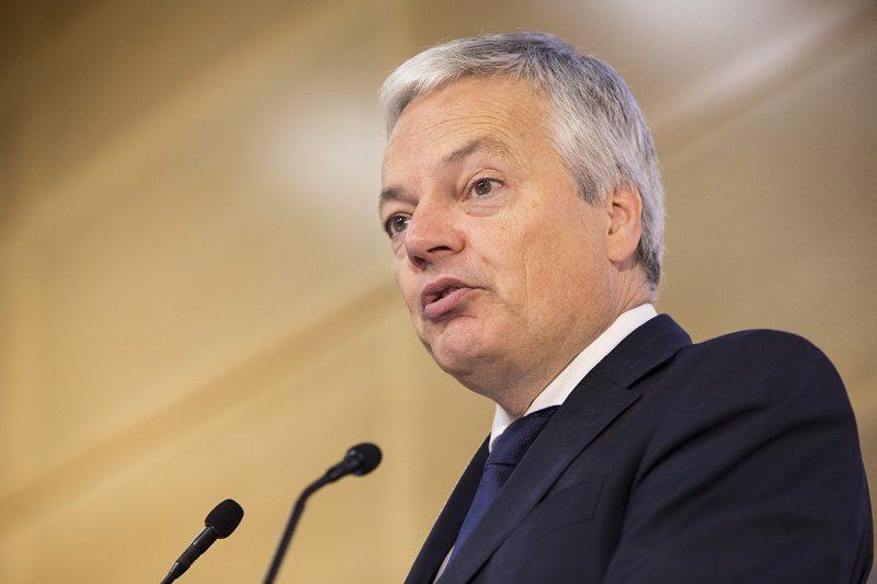 Komisarz UE ds. sprawiedliwości Didier Reynders, źródło audiovisual.ec.europa.eu