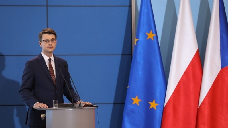 Rzecznik rządu Piotr Müller, źródło twitter PiotrMuller