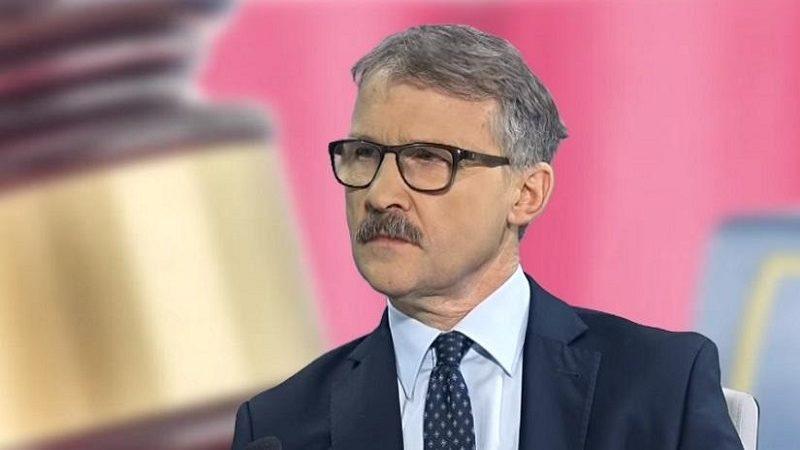 Szef nowej KRS sędzia Leszek Mazur, źródło twitter Maciej Mitera za wPolityce