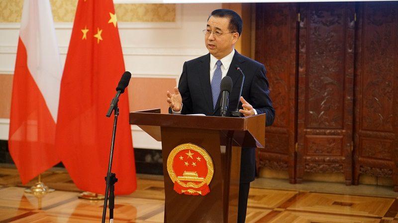 Ambasador Chin Liu Guangyuan, konferencja prasowa, źródło pl.china-embassy.org