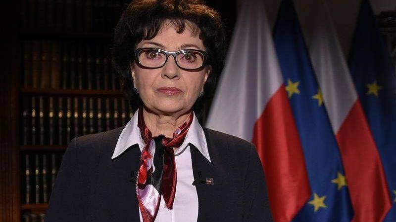 Marszałek Sejmu Elżbieta Witek, orędzie z apelem ws. głosowania korespondencyjnego, źródło sejm.gov.pl