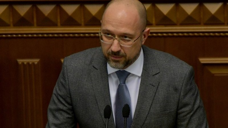 Nowy premier Ukrainy Denys Szmyhal, źródło president.gov.ua