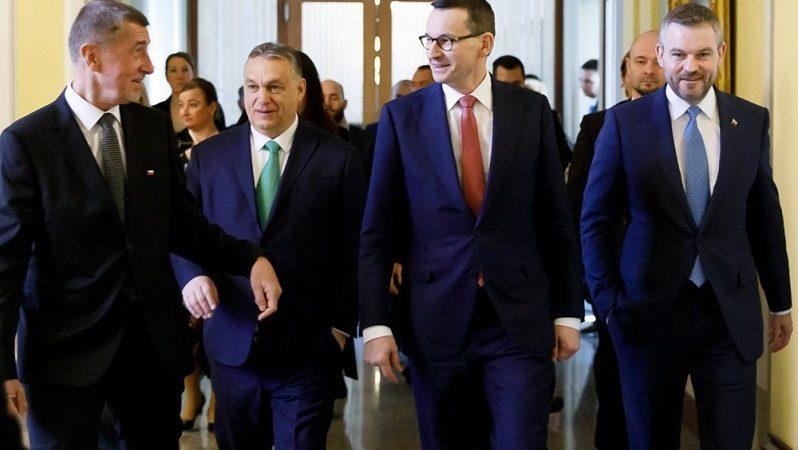 Szczyt V4 w Pradze ws. koronawirusa, źródło Krystian Maj KPRM
