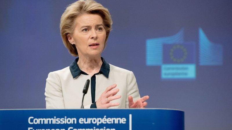 UvdL. Źródło- Twitter Komisji Europejskiej