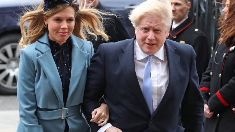 Boris Johnson i Carrie Symonds. Źródło - Facebook Borisa Johnsona