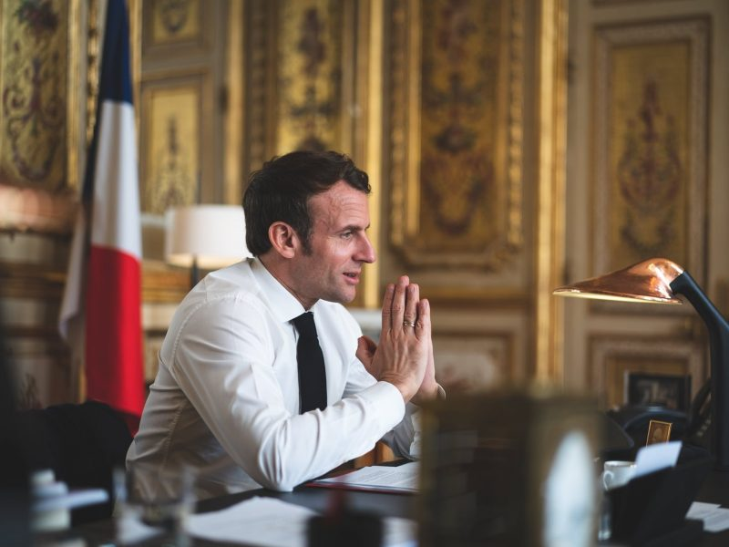 Emmanuel Macron. Fot. Oficjalny profil Facebook Emmanuela Macrona
