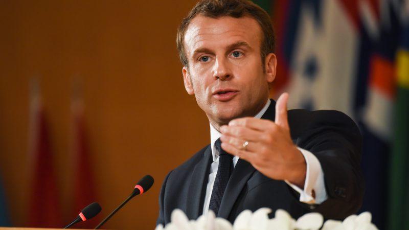 Emmanuel Macron, ILO, flickr.com