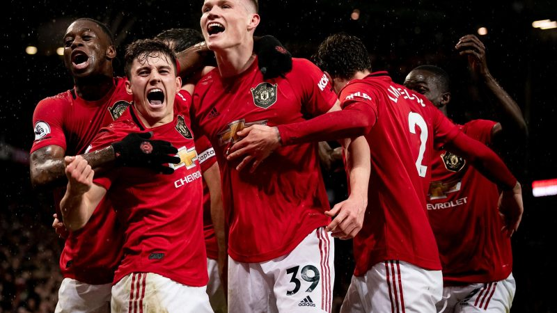 Manchester United. Źródło - Premier League Facebook 8 marca https://www.facebook.com/premierleague/photos/a.408877845803303/3400768973280827/?type=3&theater