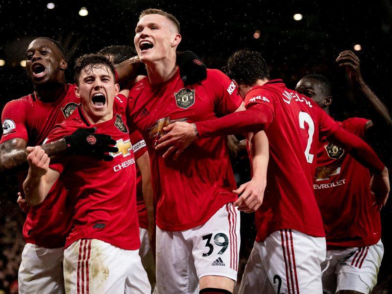 Manchester United. Źródło - Premier League Facebook 8 marca https://www.facebook.com/premierleague/photos/a.408877845803303/3400768973280827/?type=3&theater