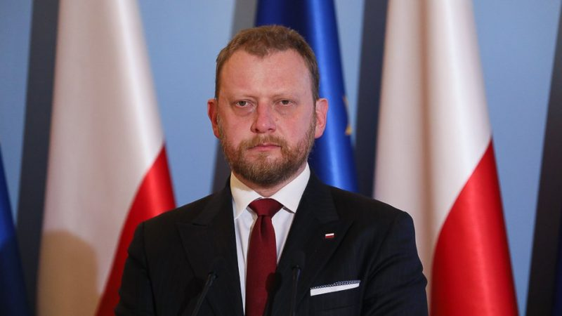 Minister zdrowia Łukasz Szumowski, fot. Ministerstwo Zdrowia [Twitter]