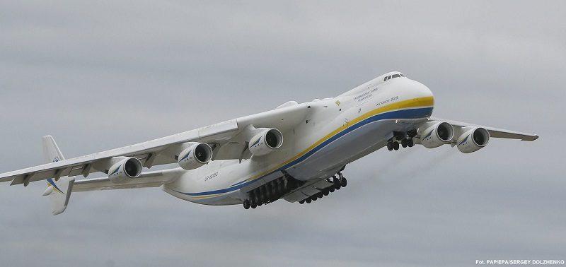 Największy samolot świata AN 225 Mrija, źródło twitter AntonovCompany